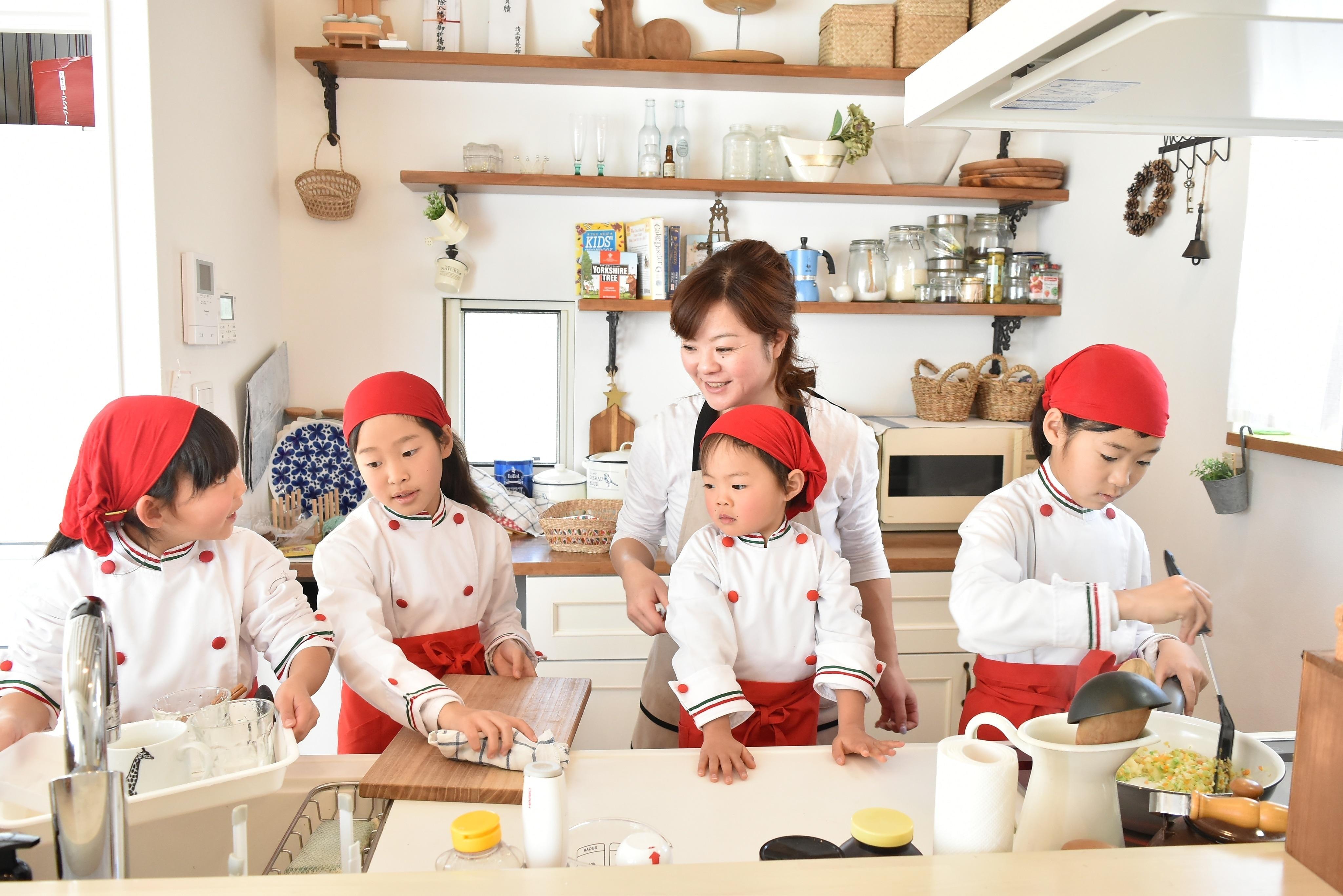 (一社)神戸親子遊び推進協会とことここどもお料理教室バンビーニ